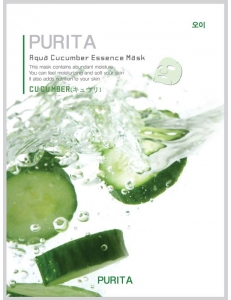 Маска для лица PURITA с экстрактом огурца