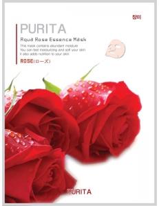 Маска для лица PURITA с экстрактом розы