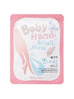 Shara Shara Baby Hand & Nail Mask Маска-перчатки для рук и ногтей