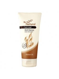 ENPRANI Natuer Be Oatmeal Multi Cleanser 180 ml Очищающий крем с экстрактом овса 180 мл
