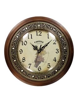 Часы настенные из натурального дерева Castita 002В