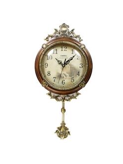 Часы настенные из натурального дерева Castita 008В