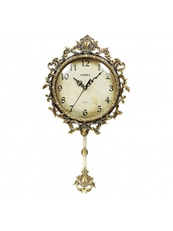 Часы настенные из натурального дерева Castita 012В
