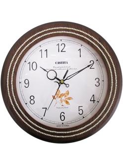 Часы настенные из натурального дерева Castita 115В
