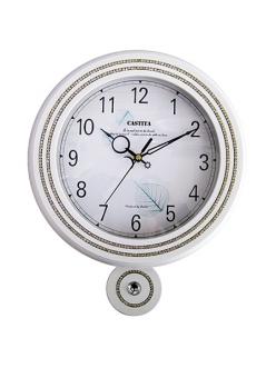Часы настенные из натурального дерева Castita 116W