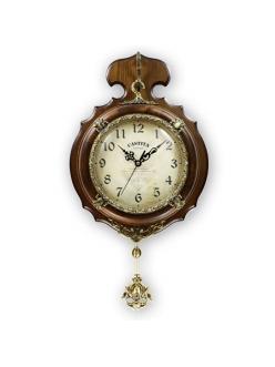 Часы настенные из натурального дерева Castita 201В