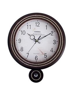 Часы настенные из натурального дерева Castita 116В