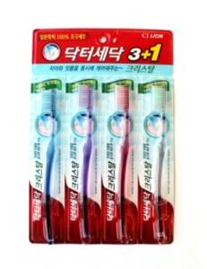 Зубная щетка Crystal для слабых десен 4 шт.