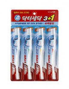 Зубная щетка Crystal Compact 4 шт.