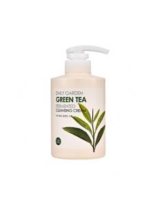 """Очищающий крем """"Дейли Гаден"""" Зеленый чай"""