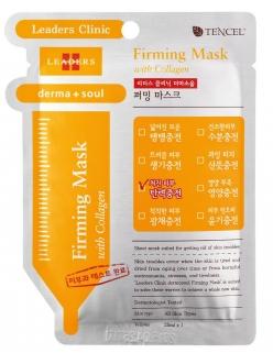Leaders Derma Soul Firming Mask with Collagen Маска для лица Лидерс Клиник Дерма Соул Подтягивающая