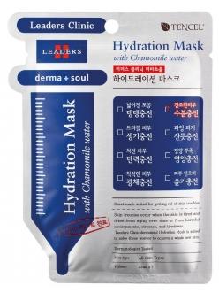 Leaders Derma Soul Hydration Mask with Chamomile water Маска для лица Лидерс Клиник Дерма Соул Увлажняющая