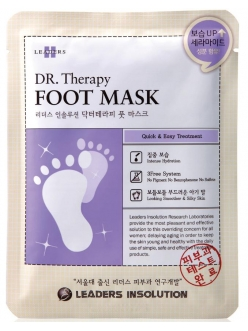 Leaders Insolution Dr. Therapy Foot Mask Маска для ног Лидерс Инсолюшн Доктор Терапи Носочки