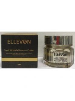 Ellevon snail wrincle recover cream  Антивозрастной крем с фильтратом слизи улитки