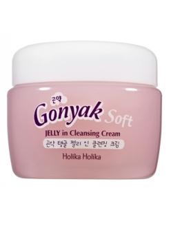Holika Holika Gonyak Soft JELLY in Cleansing Cream Очищающий крем с экстрактом  растения конняку