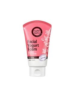 Happy Bath Facial Yogurt  Пенка для умывания Разглаживающая Лесные ягоды
