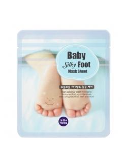 Holika Holika Baby Silky Foot Mask Sheet Смягчающая маска для ног Baby Silky