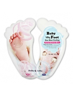 Holika Holika Baby Silky Foot One Shot Peeling Жидкий пилинг для ног