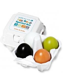 Holika Holika Egg Soap Special Set Набор мыла ручной работы (уголь+глина+чай+ белок яйца) (50г*4)