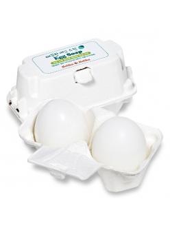 Holika Holika Egg Soap Мыло-маска ручной работы для сужения и очистки пор c яичным белком (50г*2)