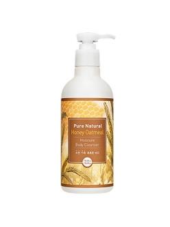 Holika Holika Pure Natural Honey Oatmeal Moisture Body Cleanser Гель для душа Pure Natural медово-овсяный