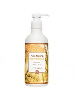 Holika Holika Pure Natural Honey Oatmeal Moisture Body Lotion Молочко для тела медово-овсяное