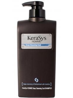 Kerasys HOMME Deep Cleansing Cool Shampoo Керасис Шампунь Освежающий для Мужчин