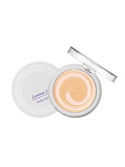 "Holika Holika Luminous Silk Whitening Cream Foundation Кремовое компактное средство ""Сияющий шелк"""