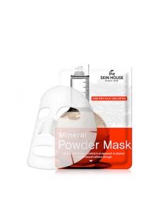 Тканевая маска с минеральной пудрой