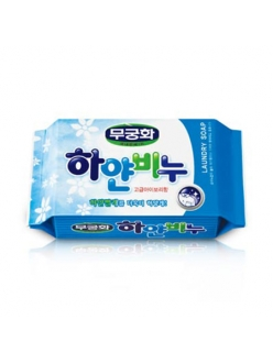 Mukunghwa white laundry soap Хозяйственное мыло белое 230 г