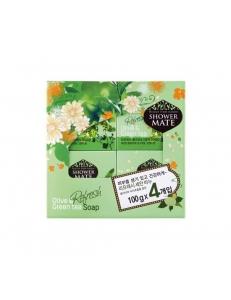 Мыло Оливки и зеленый чай набор