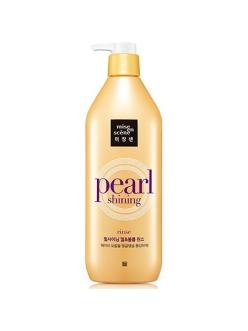 Mise en Scene Pearl Shining Curl and Volume Rinse Кондиционер для волос Объем, 530 мл