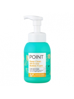 Мусс для умывания Point Deep Clean All-in-one Bubble Foam, 300 мл