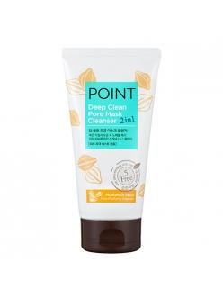 Point Deep Clean Поинт Маска и пенка для умывания (2в1)