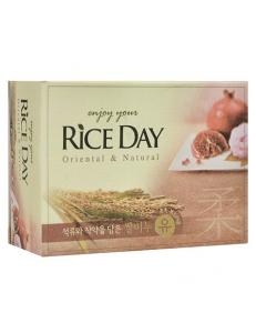 "CJ Lion Мыло ""Rice Day""  Гранат и Пион"