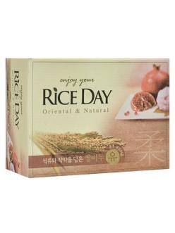 "Мыло туалетное ""Rice Day""  Гранат и Пион"