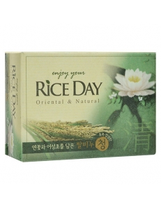 "CJ Lion Мыло ""Rice Day""  Лотос"