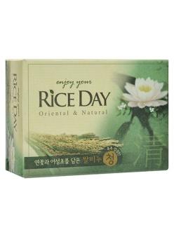 "Мыло туалетное ""Rice Day""  Лотос"