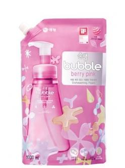 Soonsaem Bubble Berry Pink Сунсэм Пена-концентрат для мытья посуды Ягоды запаска