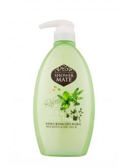 Shower MATE Olive&Green tea Гель для душа Шауэр Мэйт Оливки и зеленый чай