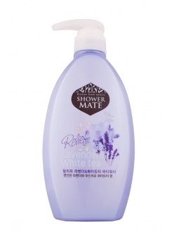 Shower MATE Lavender &White tea Гель для душа Шауэр Мэйт Кокос и белый чай