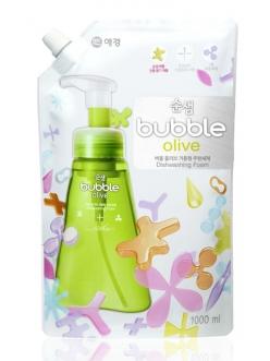 Soonsaem Bubble Olive Сунсэм Пена-концентрат для мытья посуды Оливки запаска