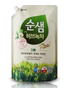 Средство для мытья посуды Зеленый чай
