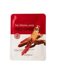 Enprani The Original Red Ginseng Mask Тканевая маска с натуральным экстрактом красного женьшеня