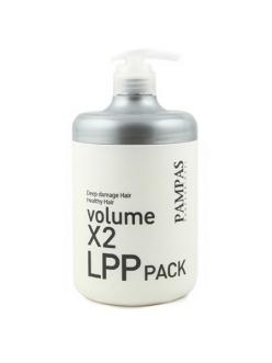 Volume X2 LPP Hair Pack Pampas Восстанавливающая маска Pampas Интенсивная терапия