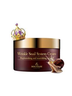 The Skin House Wrinkle Snail System Cream Антивозрастной улиточный крем